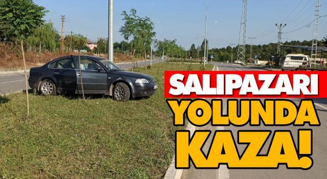 SALIPAZARI YOLUNDA KAZA!