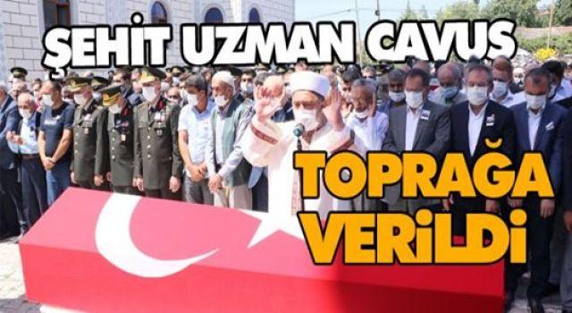 ŞEHİT UZMAN ÇAVUŞ SAMSUN'DA TOPRAĞA VERİLDİ
