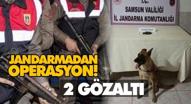 JANDARMADAN OPERASYON! 2 GÖZALTI