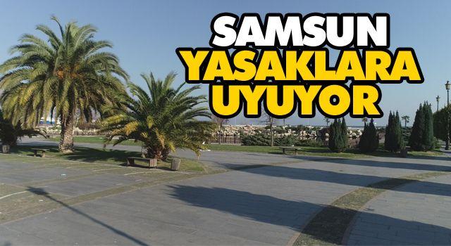 SAMSUN YASAKLARA UYUYOR